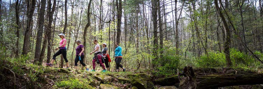 wilderness walk for fitness