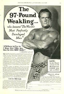 charles atlas vintage ad