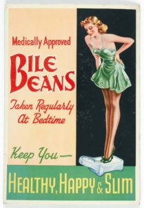 Bile beans vintage ad