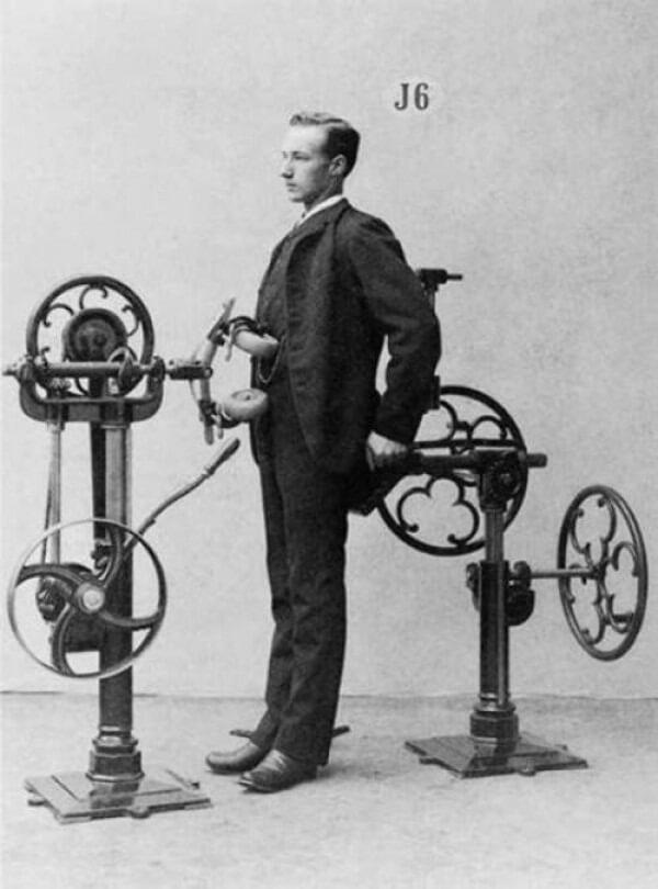 vintage exercise machine