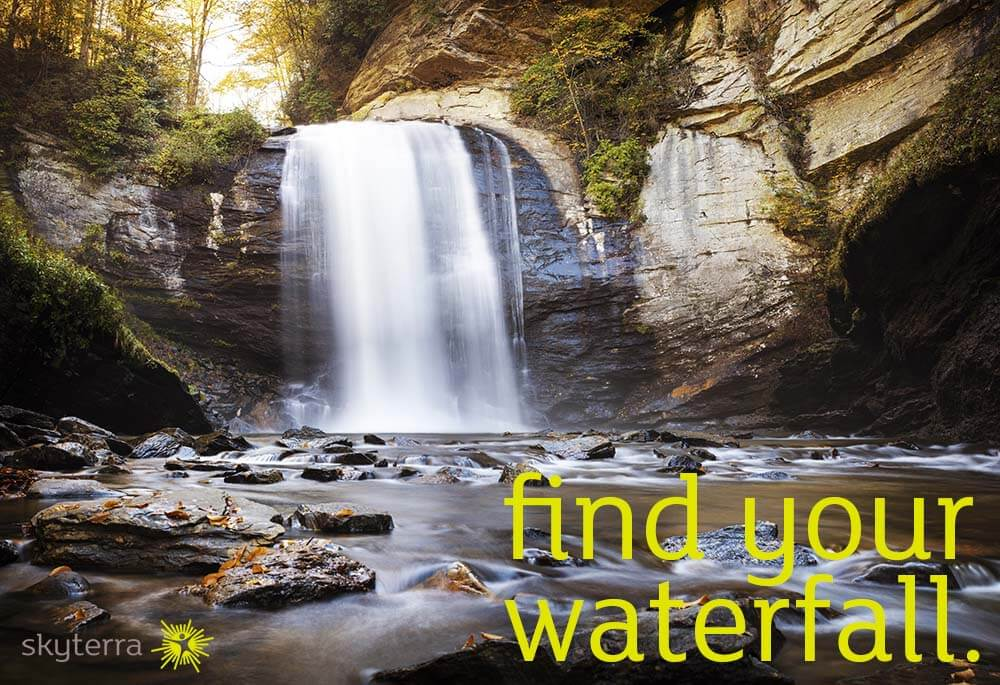 find your waterfall