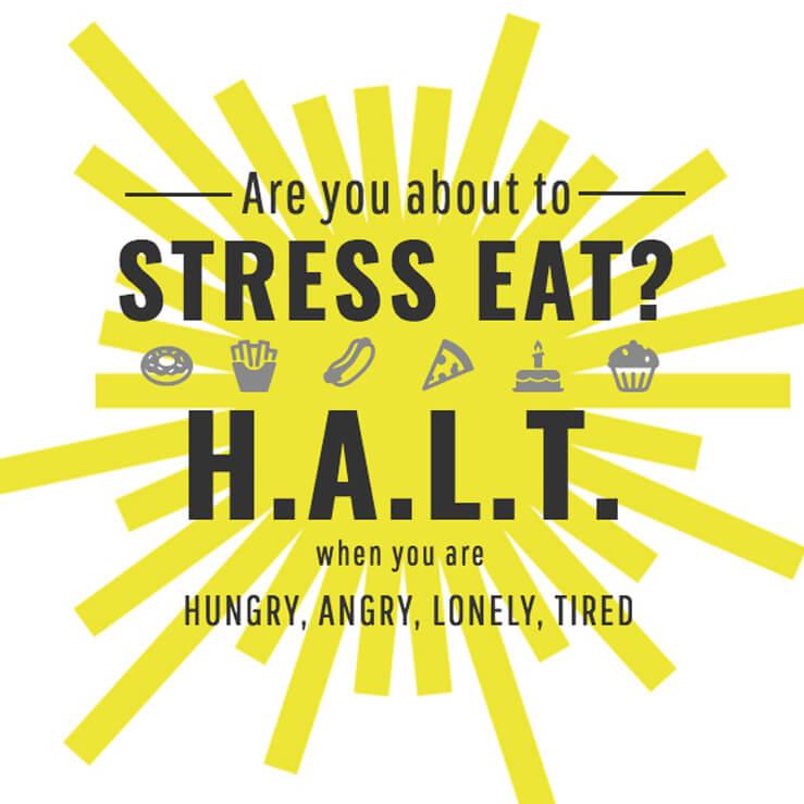 HALT Stress Eating