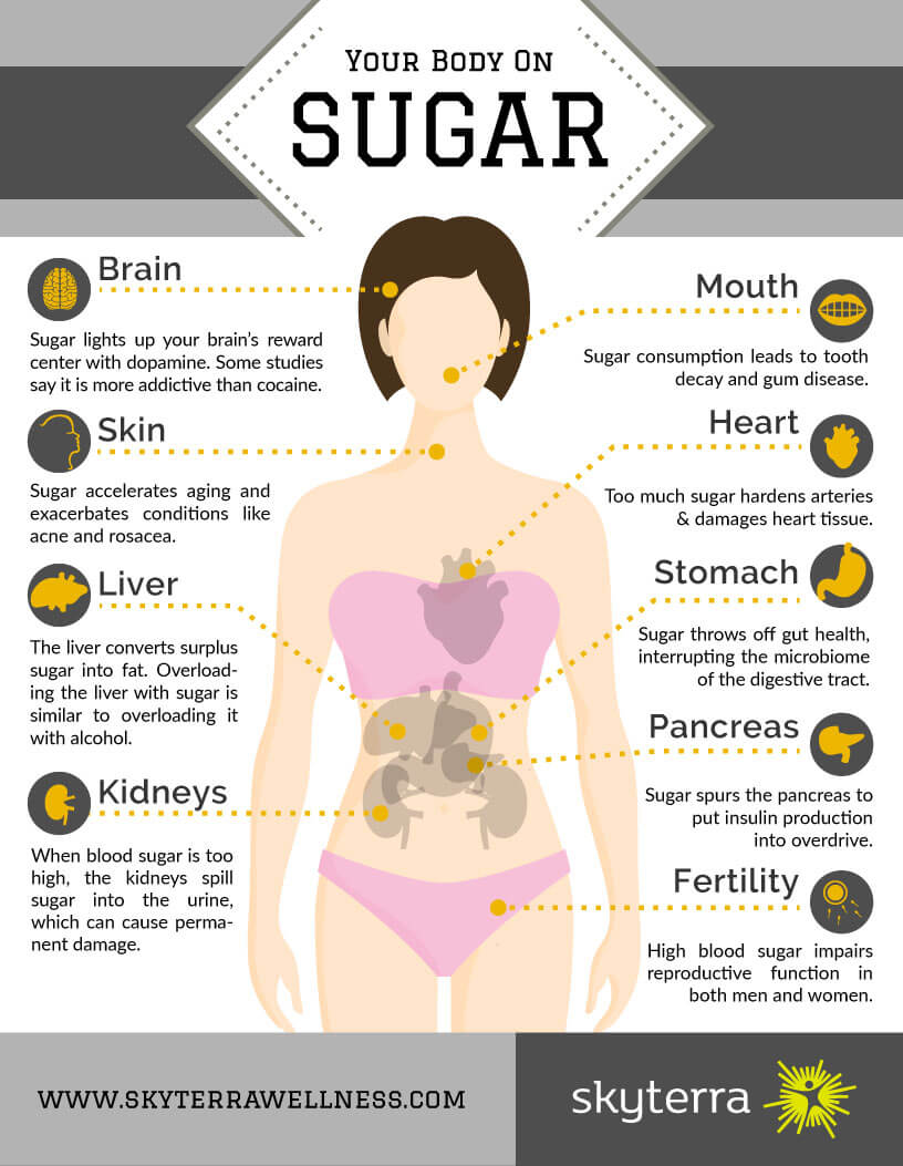 Infographic: Your Body On Sugar
