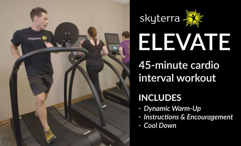 Skyterra Elevate Interval Cardio Workout