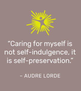 Self-Care Audre Lorde Quote