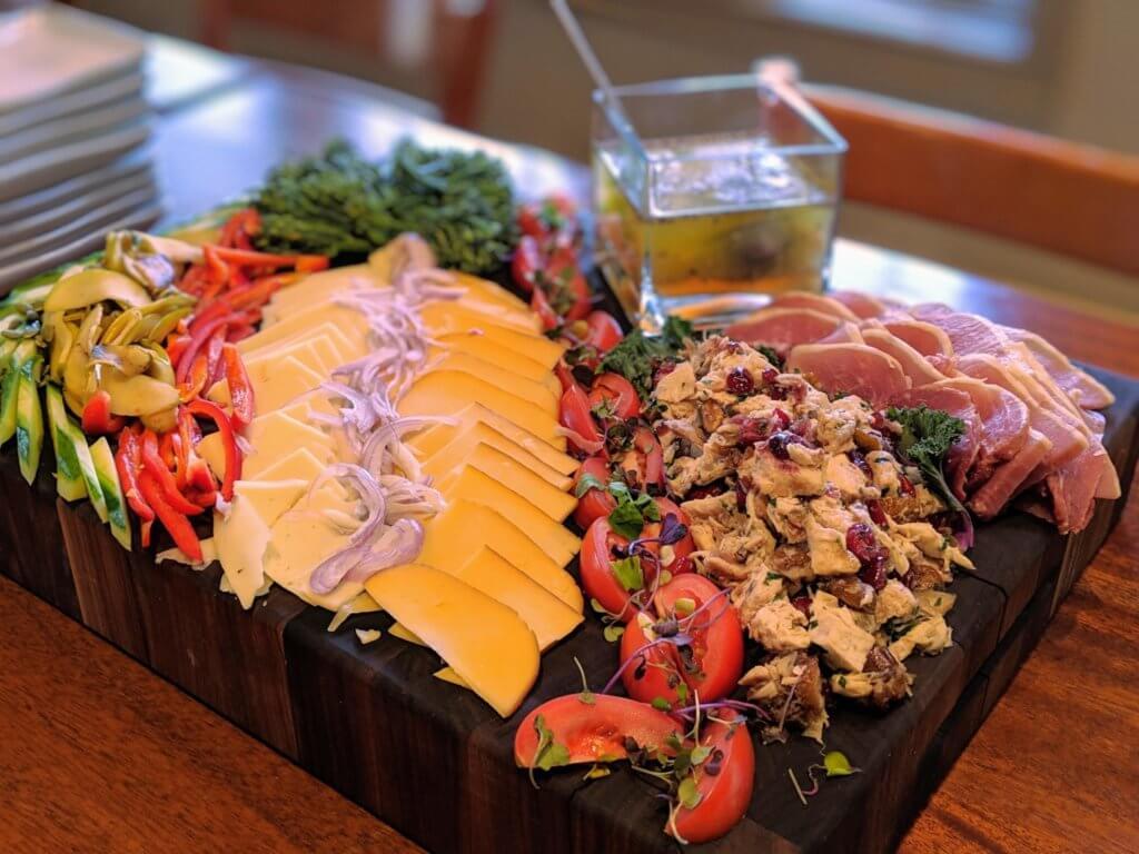 Skyterra Culinary Center Platter