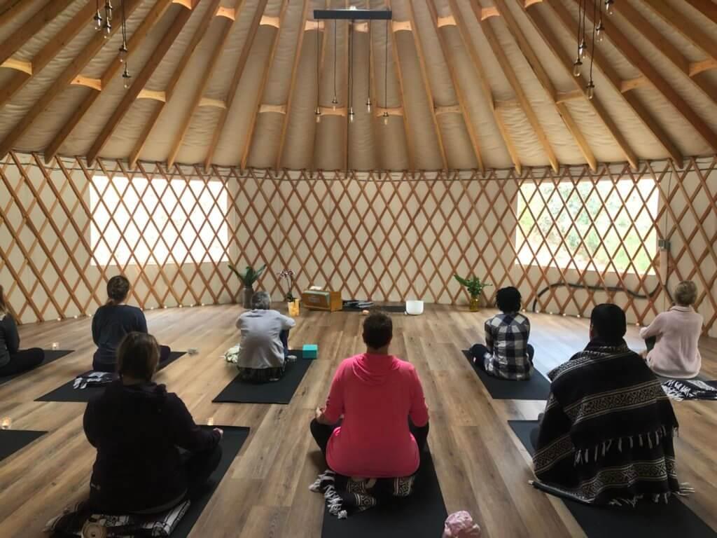 yoga-yurt