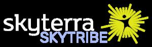 Skytribe Logo (White)